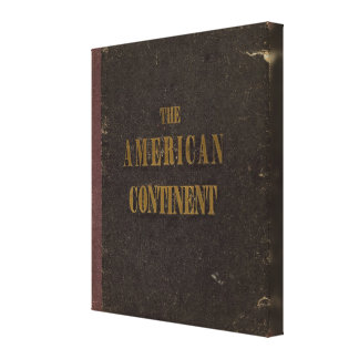 American Continent United States Canvas Print