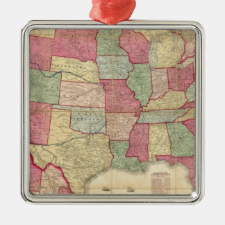 American Continent United States Christmas Ornament