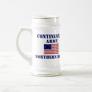 American Continental Army Drinking Stein Mug