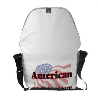 American Cosmonaut Messenger Bag