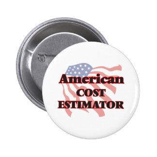 American Cost Estimator 6 Cm Round Badge