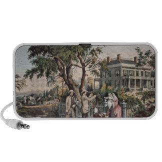 American Country Life - October Afternoon, 1855 iPhone Speaker
