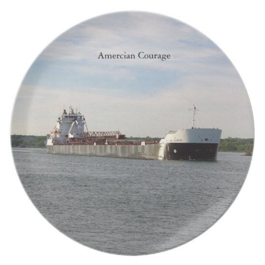 American Courage plate