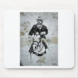 American Cowboy Horse Western Southwest Mouse Pad