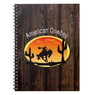 American Cowboy Notebook