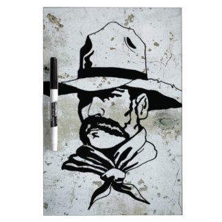 American Cowboy Western Southwest Hat Horse Dry-Erase Whiteboards