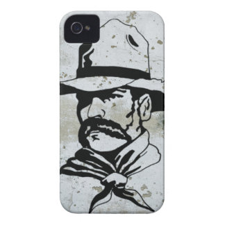 American Cowboy Western Southwest Hat Horse iPhone 4 Case-Mate Case