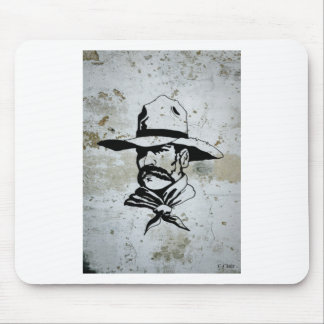 American Cowboy Western Southwest Hat Horse Mouse Pad