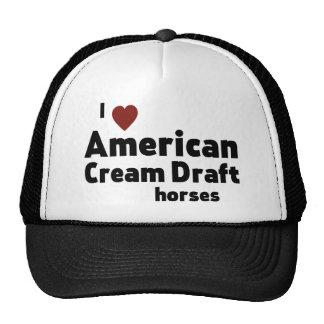 American Cream Draft horses Trucker Hat