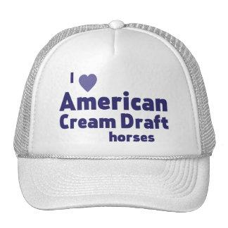 American Cream Draft horses Cap