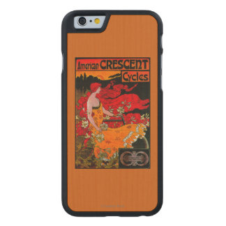 American Crescent Vintage PosterEurope Carved® Maple iPhone 6 Slim Case