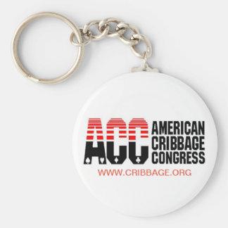 American Cribbage Congress Keychain