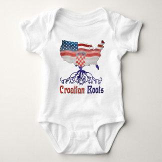 American Croatian Roots Baby Bodysuit