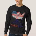 American Croatian Roots Sweatshirt
