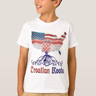 American Croatian Roots T-Shirt