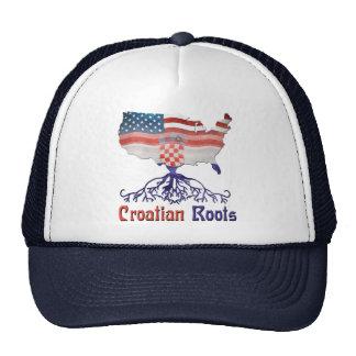 American Croatian Roots Trucker Hat