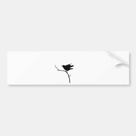 American Crow Bumper Sticker