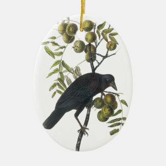 American Crow, John James Audubon Christmas Ornament