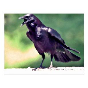 Crow Symbolism Postcards | Zazzle UK