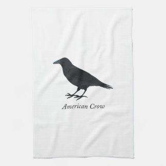 American Crow Tea Towel