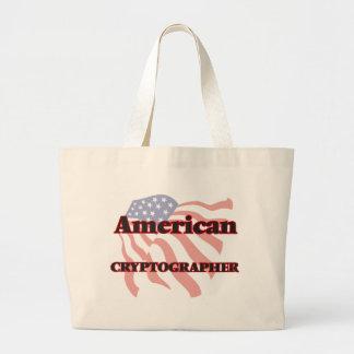 American Cryptographer Jumbo Tote Bag