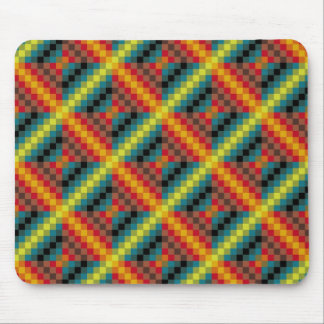 American culture pattern mouse mat