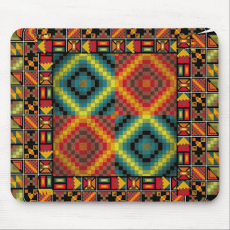 American culture pattern mouse mats