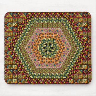 American culture pattern mouse pad