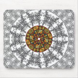 American culture pattern mousemat