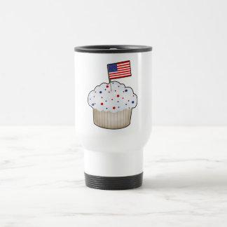 American Cupcake Stainless Steel Travel Mug
