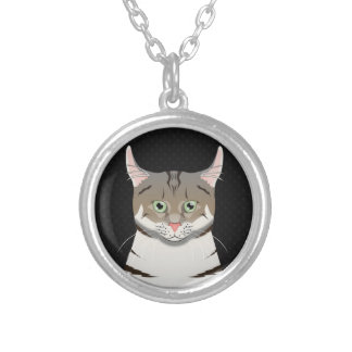 American Curl Cat Cartoon Paws Necklaces