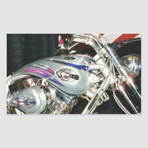 American Custom VTwin Motorcycle. Sticker