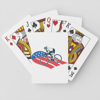 American Cyclist Playing Cards