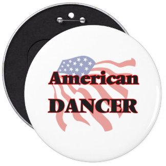 American Dancer 6 Cm Round Badge