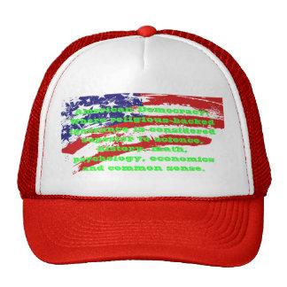 American Democracy sarcastic caps Trucker Hat
