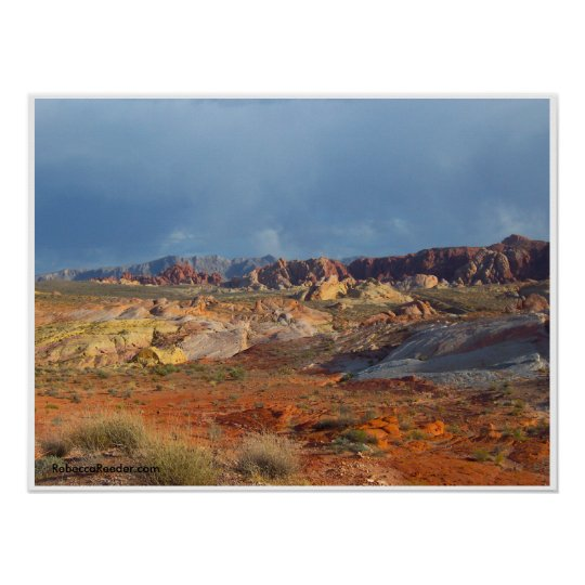 American Desert Landscapes: Valley of Fire #3 Poster