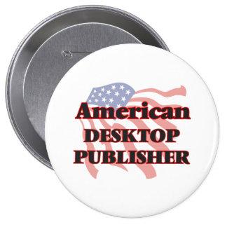 American Desktop Publisher 10 Cm Round Badge