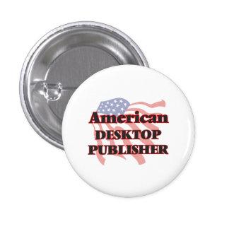 American Desktop Publisher 3 Cm Round Badge