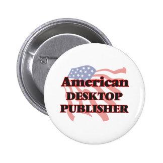 American Desktop Publisher 6 Cm Round Badge