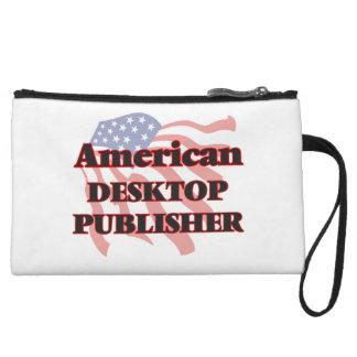 American Desktop Publisher Wristlet