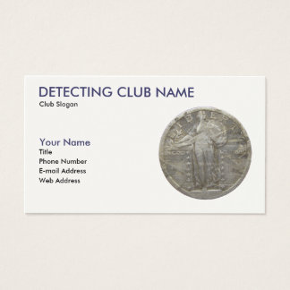 American Detectorist Business Card