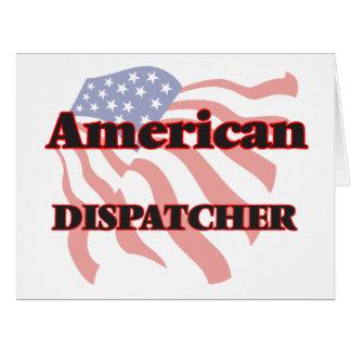 American Dispatcher Big Greeting Card