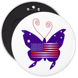 American Diva Butterfly Pin