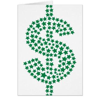 American Dollar Greeting Card