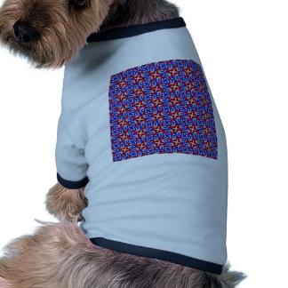 American Doodle Pattern Ringer Dog Shirt