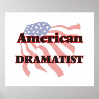 American Dramatist Poster