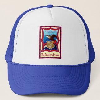 American Dream bald eagle Trucker Hat