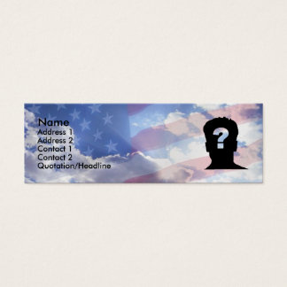 American Dream Mini Business Card