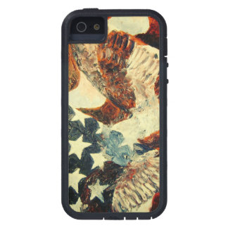 American Eagle and Flag (Faded Look) Case For iPhone 5