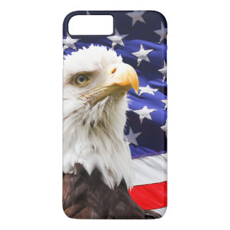 American Eagle and Flag iPhone 7 Plus Case